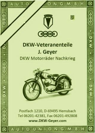 DKW Geyer Ersatzteildatenbank online